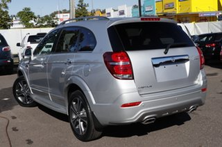 2017 Holden Captiva CG MY18 LTZ AWD Silver 6 Speed Sports Automatic Wagon.