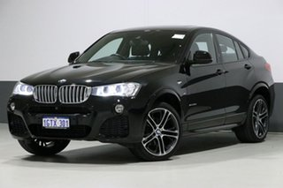 2017 BMW X4 F26 MY16 xDrive 35D Black Sapphire 8 Speed Automatic Coupe.