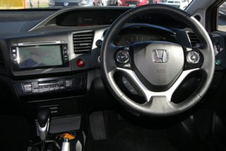 2014 Honda Civic 9th Gen Ser II MY14 Sport Red/Black 5 Speed Sports Automatic Sedan