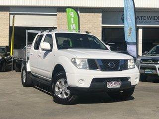 2009 Nissan Navara D40 ST White 6 Speed Manual Utility