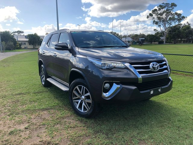 Used Toyota Fortuner GUN156R Crusade, 2017 Toyota Fortuner GUN156R Crusade Graphite 6 Speed Automatic Wagon