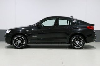 2017 BMW X4 F26 MY16 xDrive 35D Black Sapphire 8 Speed Automatic Coupe