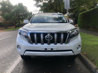 2016 Toyota Landcruiser Prado GDJ150R VX Crystal Pearl 6 Speed Sports Automatic Wagon.