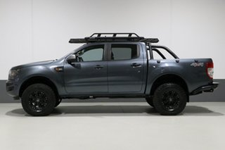 2016 Ford Ranger PX MkII XLS 3.2 (4x4) Grey 6 Speed Automatic Dual Cab Utility