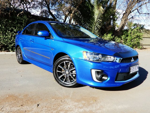 Used Mitsubishi Lancer CF MY16 ES Sport, 2015 Mitsubishi Lancer CF MY16 ES Sport Blue 6 Speed Constant Variable Sedan