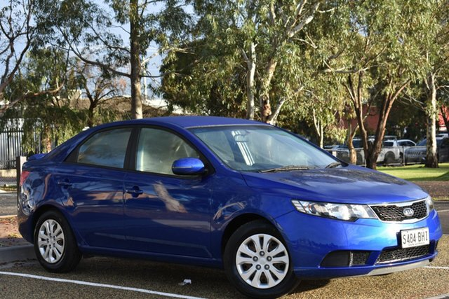Used Kia Cerato TD MY11 S, 2011 Kia Cerato TD MY11 S Blue 6 Speed Sports Automatic Sedan