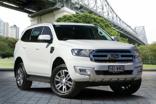 Used Ford Everest UA Trend 4WD, 2016 Ford Everest UA Trend 4WD White 6 Speed Sports Automatic Wagon
