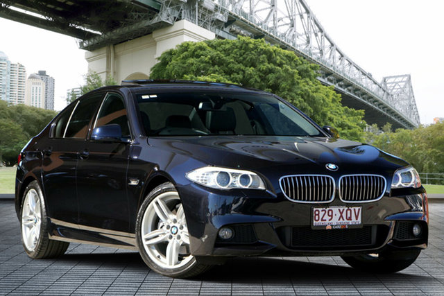 Used BMW 520d F10 MY1112 Steptronic, 2013 BMW 520d F10 MY1112 Steptronic Blue 8 Speed Sports Automatic Sedan