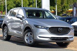 2020 Mazda CX-5 KF2W7A Maxx SKYACTIV-Drive FWD Sonic Silver 6 Speed Sports Automatic Wagon.