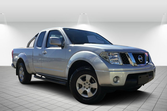 Used Nissan Navara D40 S6 MY12 ST-X King Cab, 2011 Nissan Navara D40 S6 MY12 ST-X King Cab Silver 6 Speed Manual Utility