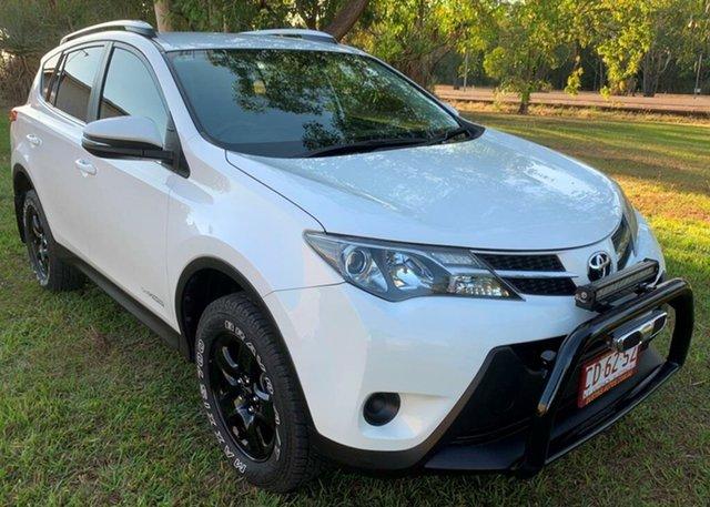 Used Toyota RAV4 ALA49R MY14 GX AWD, 2014 Toyota RAV4 ALA49R MY14 GX AWD White 6 Speed Sports Automatic Wagon