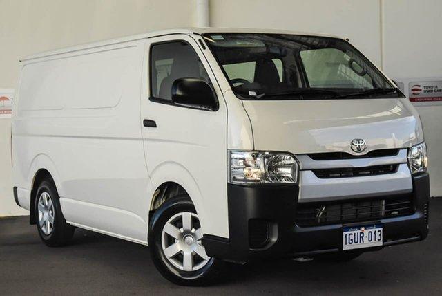 Used Toyota HiAce TRH201R MY16 LWB, 2018 Toyota HiAce TRH201R MY16 LWB French Vanilla 6 Speed Automatic Van