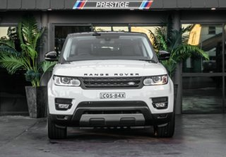 2014 Land Rover Range Rover LW Sport 3.0 TDV6 SE White 8 Speed Automatic Wagon.