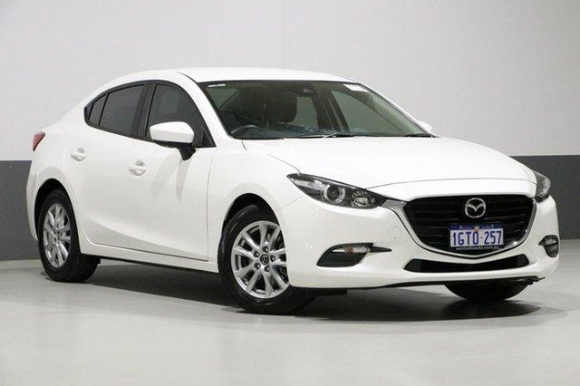 Used Mazda 3 BN MY17 Neo, 2017 Mazda 3 BN MY17 Neo White 6 Speed Manual Sedan