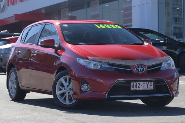 Used Toyota Corolla ZRE182R Ascent Sport S-CVT, 2014 Toyota Corolla ZRE182R Ascent Sport S-CVT Red Mica Metallic 7 Speed Constant Variable Hatchback
