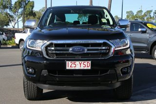 2019 Ford Ranger PX MkIII 2019.00MY XLT Pick-up Double Cab Shadow Black 10 Speed Sports Automatic
