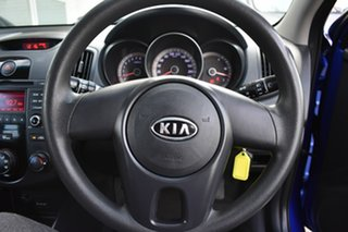2011 Kia Cerato TD MY11 S Blue 6 Speed Sports Automatic Sedan