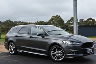 2018 Ford Mondeo MD 2018.25MY Titanium PwrShift Charcoal 6 Speed Sports Automatic Dual Clutch Wagon.