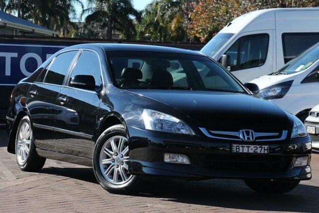 Used Honda Accord 7th Gen MY07 V6 Luxury, 2006 Honda Accord 7th Gen MY07 V6 Luxury Black 5 Speed Automatic Sedan
