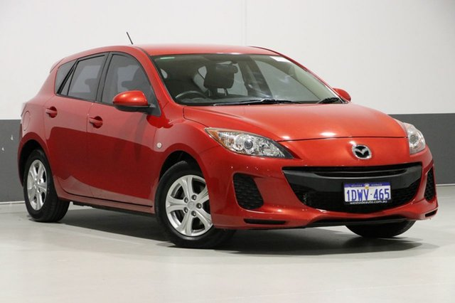 Used Mazda 3 BL Series 2 MY13 Neo, 2012 Mazda 3 BL Series 2 MY13 Neo Red 6 Speed Manual Hatchback
