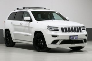 2015 Jeep Grand Cherokee WK MY15 Summit (4x4) White 8 Speed Automatic Wagon.