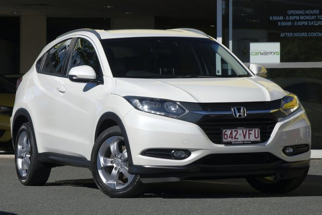 Used Honda HR-V MY15 VTi-S, 2015 Honda HR-V MY15 VTi-S White Orchid 1 Speed Constant Variable Hatchback