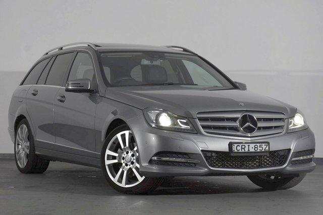 Used Mercedes-Benz C250 CDI W204 MY13 Avantgarde Estate 7G-Tronic +, 2013 Mercedes-Benz C250 CDI W204 MY13 Avantgarde Estate 7G-Tronic + Grey 7 Speed Sports Automatic
