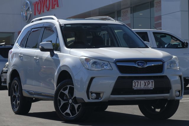 Used Subaru Forester S4 MY13 XT Lineartronic AWD Premium, 2013 Subaru Forester S4 MY13 XT Lineartronic AWD Premium White 8 Speed Constant Variable Wagon