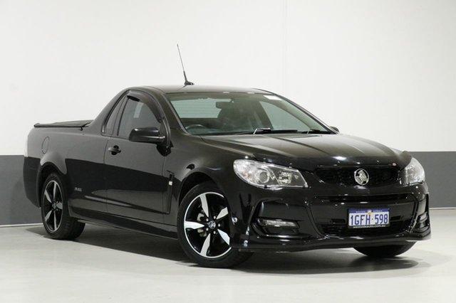 Used Holden Ute Vfii MY16 SV6 Black Edition, 2016 Holden Ute Vfii MY16 SV6 Black Edition Black 6 Speed Automatic Utility