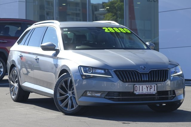 Used Skoda Superb NP MY17 162TSI DSG, 2017 Skoda Superb NP MY17 162TSI DSG Silver 6 Speed Sports Automatic Dual Clutch Wagon
