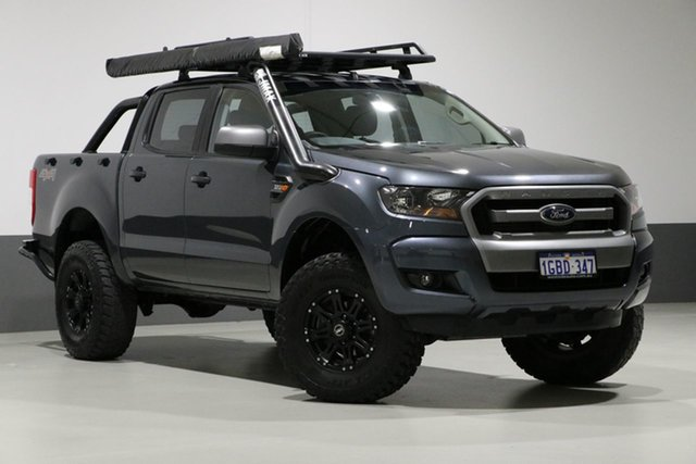 Used Ford Ranger PX MkII XLS 3.2 (4x4), 2016 Ford Ranger PX MkII XLS 3.2 (4x4) Grey 6 Speed Automatic Dual Cab Utility