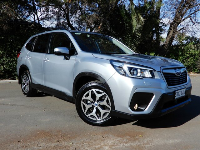Used Subaru Forester S5 MY19 2.5i CVT AWD, 2018 Subaru Forester S5 MY19 2.5i CVT AWD Silver 7 Speed Constant Variable Wagon