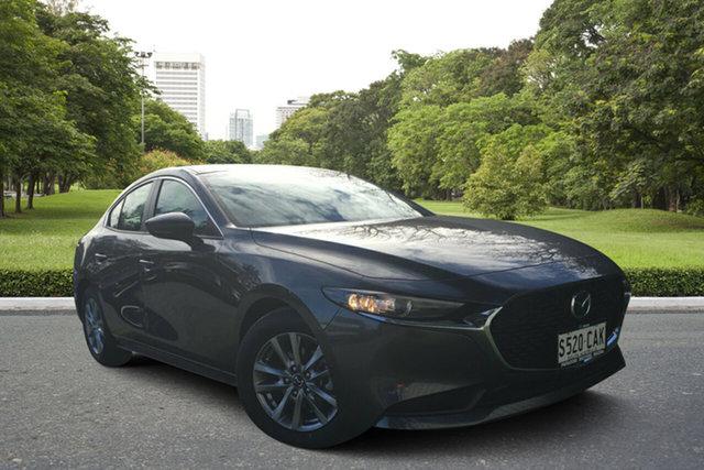 Demo Mazda 3 BP2S76 G20 SKYACTIV-MT Pure, 2019 Mazda 3 BP2S76 G20 SKYACTIV-MT Pure Machine Grey 6 Speed Manual Sedan