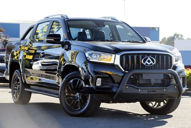 New LDV T60 SK8C Trailrider, 2019 LDV T60 SK8C Trailrider Obsidien Black 6 Speed Sports Automatic Utility