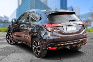 2018 Honda HR-V MY18 RS Ruse Black 1 Speed Constant Variable Hatchback.