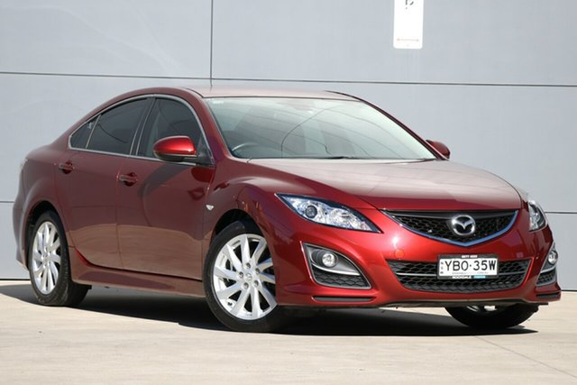 Used Mazda 6 GH1051 MY09 Classic, 2010 Mazda 6 GH1051 MY09 Classic Red/Black 5 Speed Sports Automatic Sedan