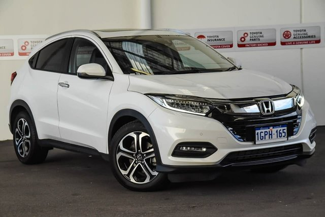 Used Honda HR-V MY18 VTi-LX, 2018 Honda HR-V MY18 VTi-LX White Continuous Variable Wagon