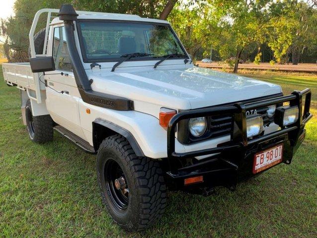 Used Toyota Landcruiser HZJ75RP , 1996 Toyota Landcruiser HZJ75RP White 5 Speed Manual Cab Chassis