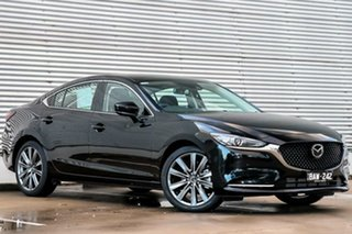 2018 Mazda 6 GL1032 GT SKYACTIV-Drive Jet Black 6 Speed Sports Automatic Sedan.