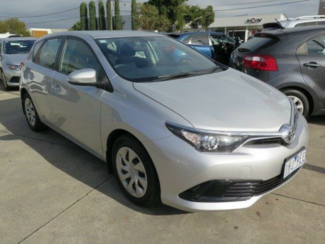 Used Toyota Corolla ZRE182R Ascent S-CVT, 2016 Toyota Corolla ZRE182R Ascent S-CVT Silver 7 Speed Constant Variable Hatchback