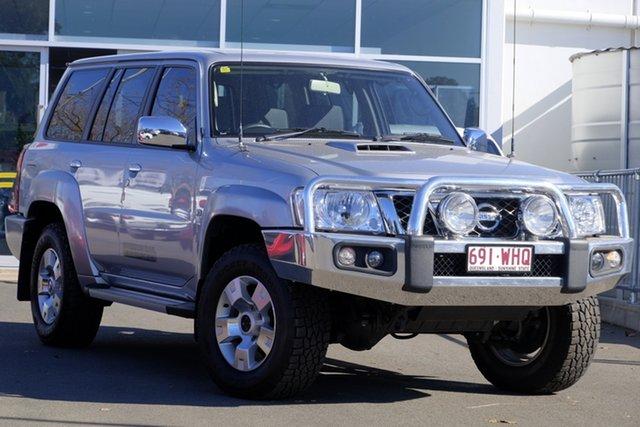 Used Nissan Patrol Y61 GU 10 ST, 2016 Nissan Patrol Y61 GU 10 ST Silver 5 Speed Manual Wagon
