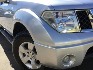 2011 Nissan Navara D40 S6 MY12 ST-X King Cab Silver 6 Speed Manual Utility.
