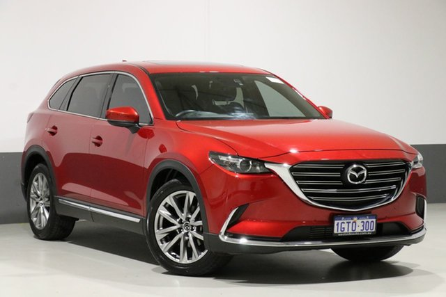 Used Mazda CX-9 MY16 GT (FWD), 2017 Mazda CX-9 MY16 GT (FWD) Red 6 Speed Automatic Wagon