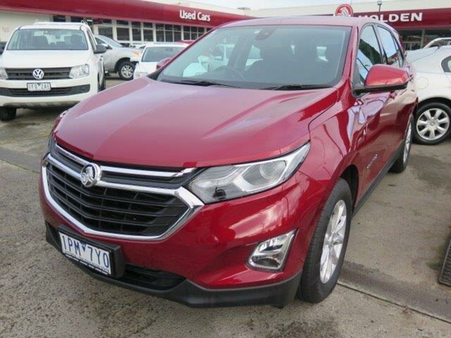 Used Holden Equinox EQ MY18 LS+ FWD, 2018 Holden Equinox EQ MY18 LS+ FWD Glory Red 6 Speed Sports Automatic Wagon