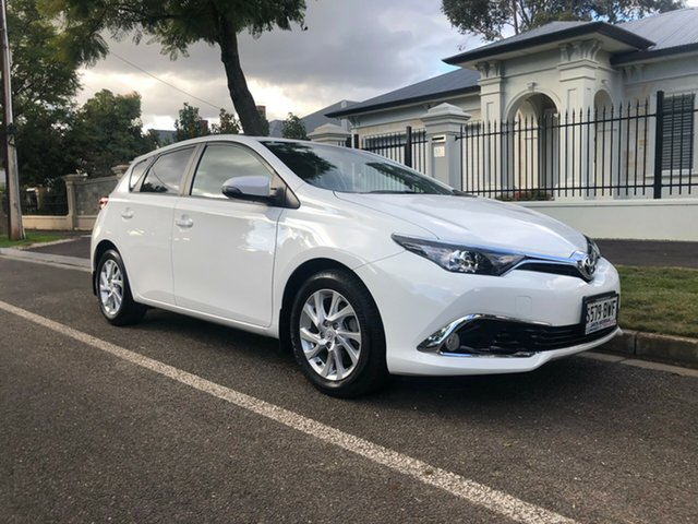 Used Toyota Corolla ZRE182R Ascent Sport S-CVT, 2018 Toyota Corolla ZRE182R Ascent Sport S-CVT White 7 Speed Constant Variable Hatchback