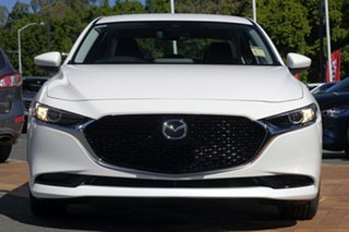 2020 Mazda 3 BP2SLA G25 SKYACTIV-Drive GT Snowflake White 6 Speed Sports Automatic Sedan