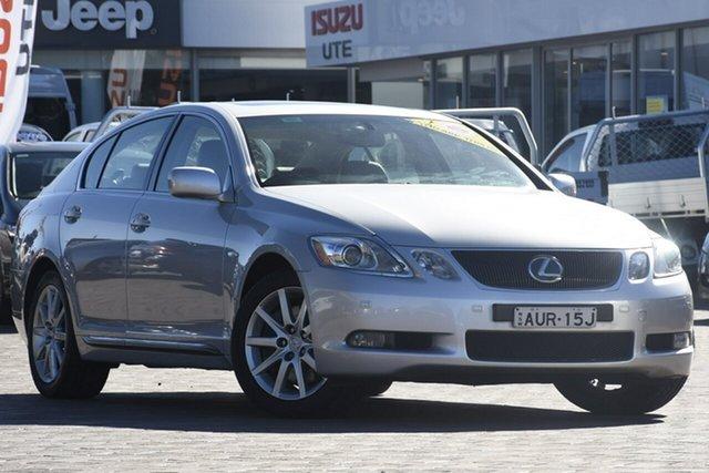 Used Lexus GS300 GRS190R Sports Luxury, 2005 Lexus GS300 GRS190R Sports Luxury Silver 6 Speed Sports Automatic Sedan