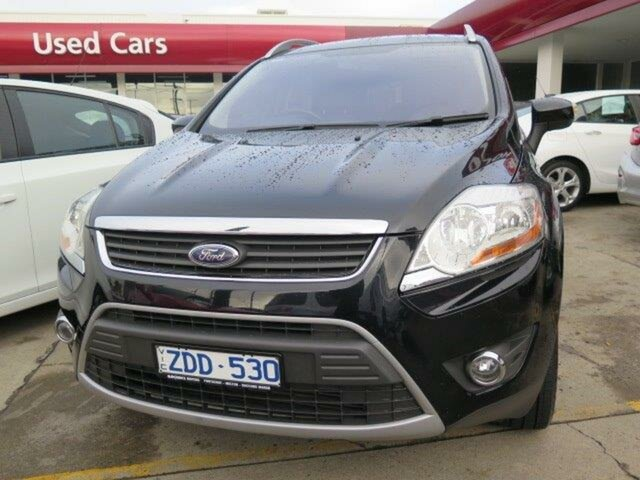 Used Ford Kuga TE Trend AWD, 2012 Ford Kuga TE Trend AWD Black/Grey 5 Speed Sports Automatic Wagon