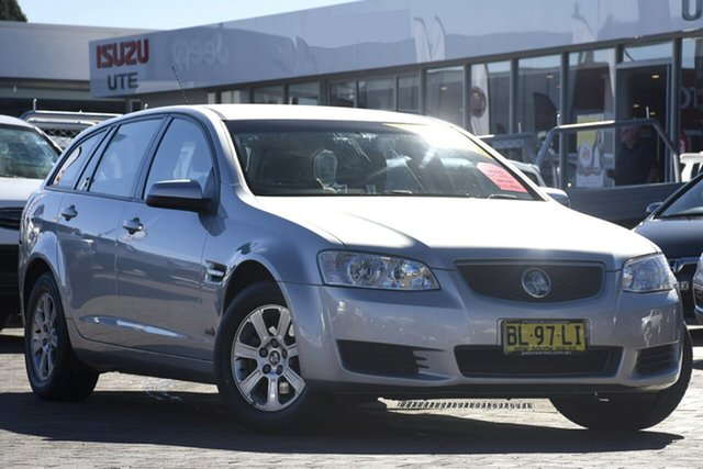 Used Holden Commodore VE II MY12 Omega Sportwagon, 2012 Holden Commodore VE II MY12 Omega Sportwagon Silver 6 Speed Sports Automatic Wagon