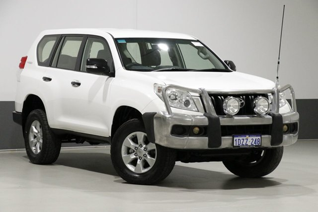 Used Toyota Landcruiser Prado KDJ150R 11 Upgrade GX (4x4), 2012 Toyota Landcruiser Prado KDJ150R 11 Upgrade GX (4x4) White 5 Speed Sequential Auto Wagon